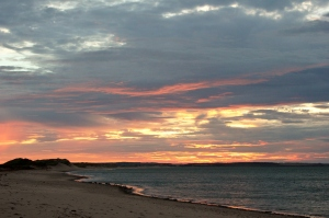 Cavendish Beach at Sunset, PEI